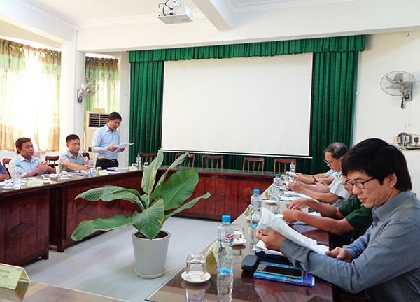 Hội đồng tư vấn xác định nhiệm vụ KH&CN theo Quyết định số 114/QĐ-SKHCN ngày 02/7/2019 của Giám đốc Sở KH&CN Phú Yên